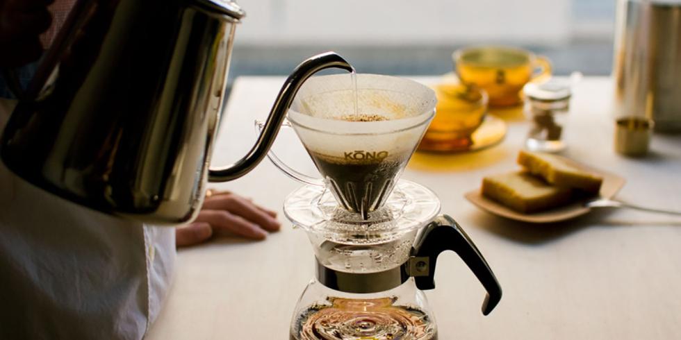 コーヒーを楽しむ道具