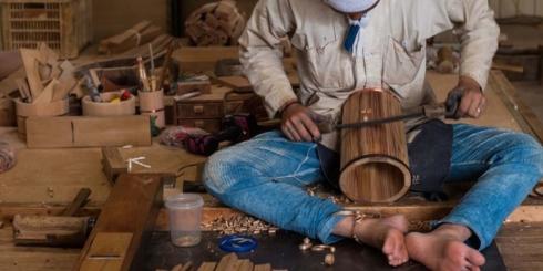 司製樽「木桶づくりの実演と体験」