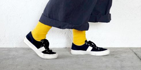 D&DEPARTMENTのリサイクルコットン靴下