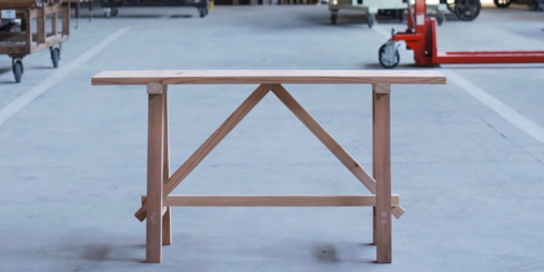 杉工場の屋台椅子とベンチ
