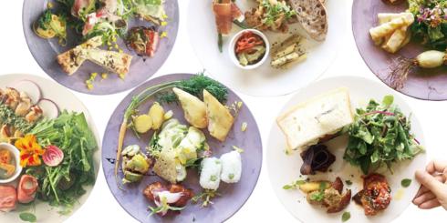北山農園の野菜を味わうランチタイム