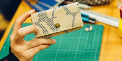 Carton Workshop 富山のダンボールで財布をつくろう