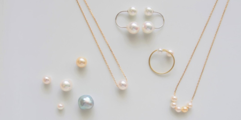 ヤシマ真珠と6つの素材