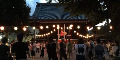盆踊り IN 佛光寺