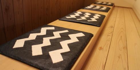 富山の風景の中にある桂樹舎の和紙(富山市編)