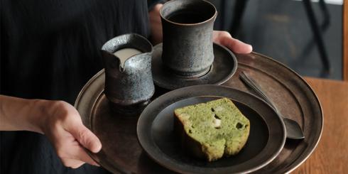 滋賀 TORASARUのケーキと器