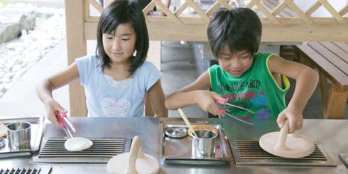 d SCOOL「わかりやすい草加煎餅」煎餅は何からできているかを知ろう