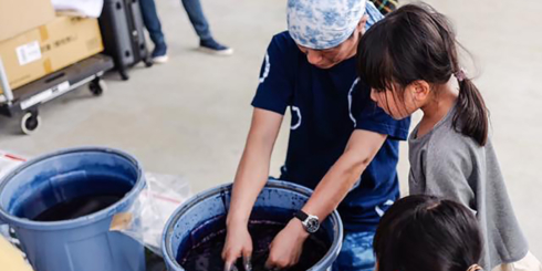 d SCHOOL「わかりやすい藍染」武州中島紺屋から学ぶ武州藍染レポート