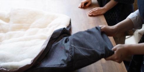 「はんてん大解剖 」展ー宮田織物綿入れ袢天のあたたかさのひみつー