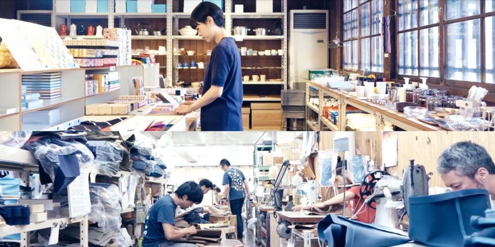 「d帆布ショルダーバッグ」D&DEPARTMENT × 一澤信三郎帆布