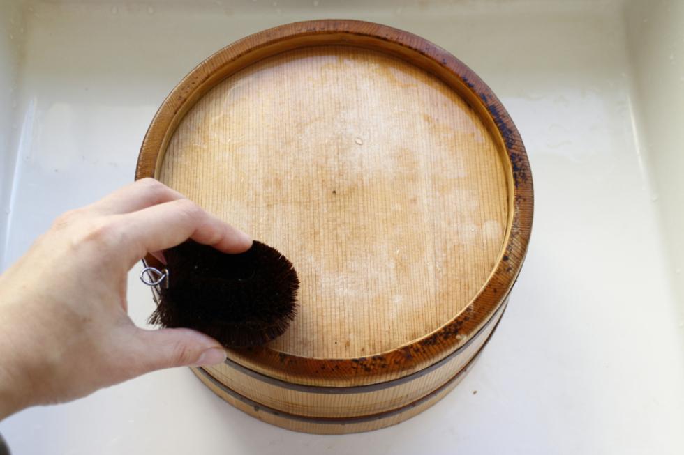 稲荷湯の風呂桶