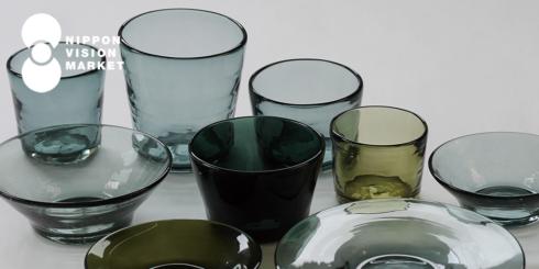 沖縄のガラス - 吹きガラス工房 彩砂のグラスと器 -