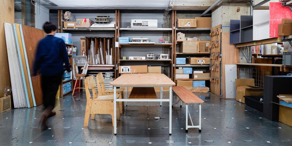 WORK TABLE & SCHOOL BENCH