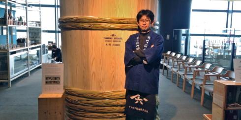 ヤマロク醤油の「木桶職人復活プロジェクト」