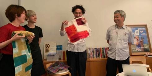 「ハタオリ大学 meets D&DEPARTMENT PROJECT」レポート①