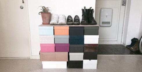 スタッフの商品日記 001 オリジナル靴箱