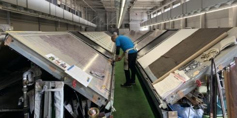 「手捺染」工場見学レポート