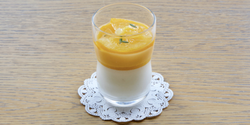 和歌山の柑橘「三宝柑」をまるごと味わうグラスデザート