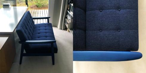 カリモク最初の家具、Kチェア。