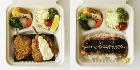 dたべる研究所に、d47食堂の「長崎アジフライ定食」と「愛知味噌カツ定食」が登場しました