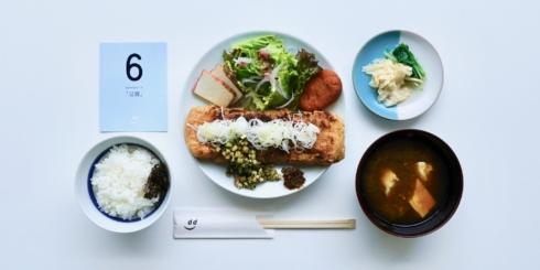 dたべる研究所「豆腐」ランチメニュー