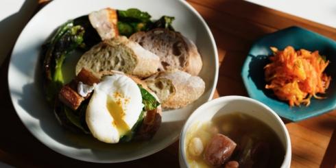 宗像堂のパンで朝ごはん
