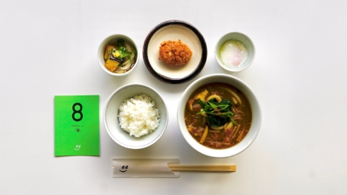 dたべる研究所「麺」ランチメニュー