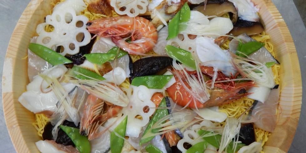 岡山のハレの日に欠かせない「備前ばら寿司」