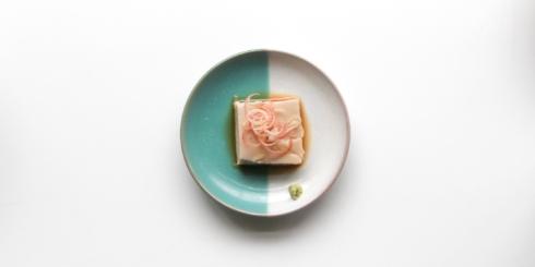 岩手「そば豆腐」