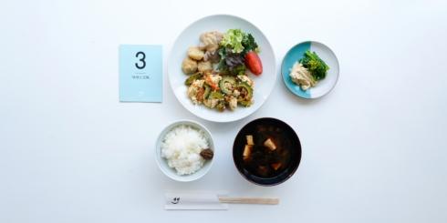 dたべる研究所「味噌と豆腐」メニュー