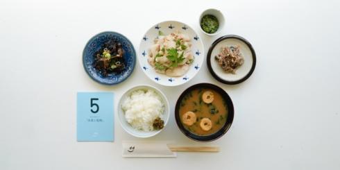dたべる研究所「山菜と乾物」メニュー