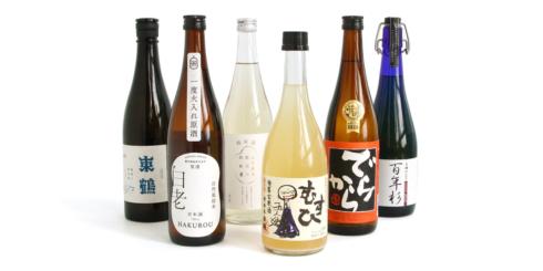 ①各地の日本酒 おまかせ3本セット