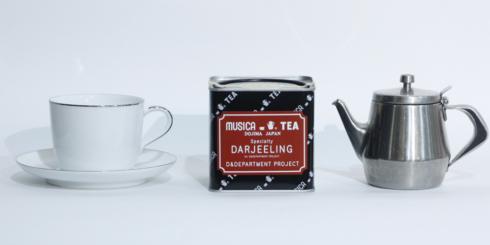 【会期延長】d47 MARKET「MUSICA TEAの紅茶」
