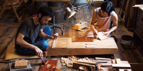 沖縄の漆器 -木漆工とけし-