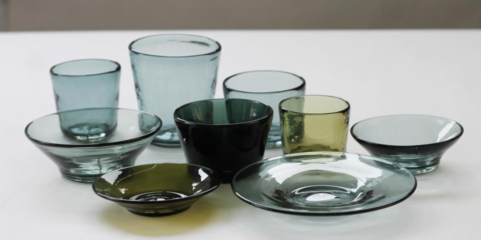 沖縄 「吹きガラス工房 彩砂」の琉球ガラス