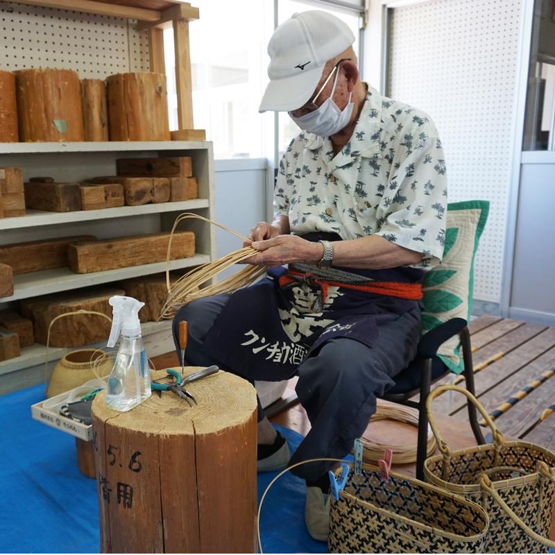 鹿児島の竹細工