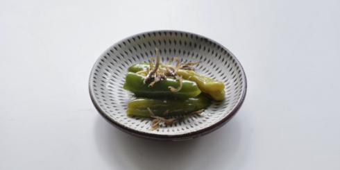 京都「万願寺唐辛子の炊いたん」