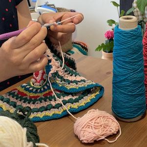 おおあみゆみさんに学ぶ かぎ針編み