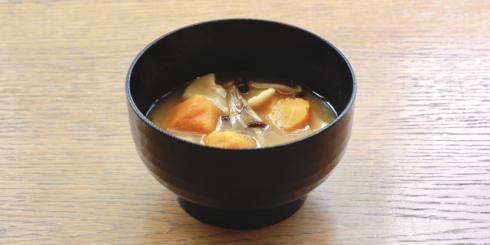 福岡「かぼちゃのだんご汁」