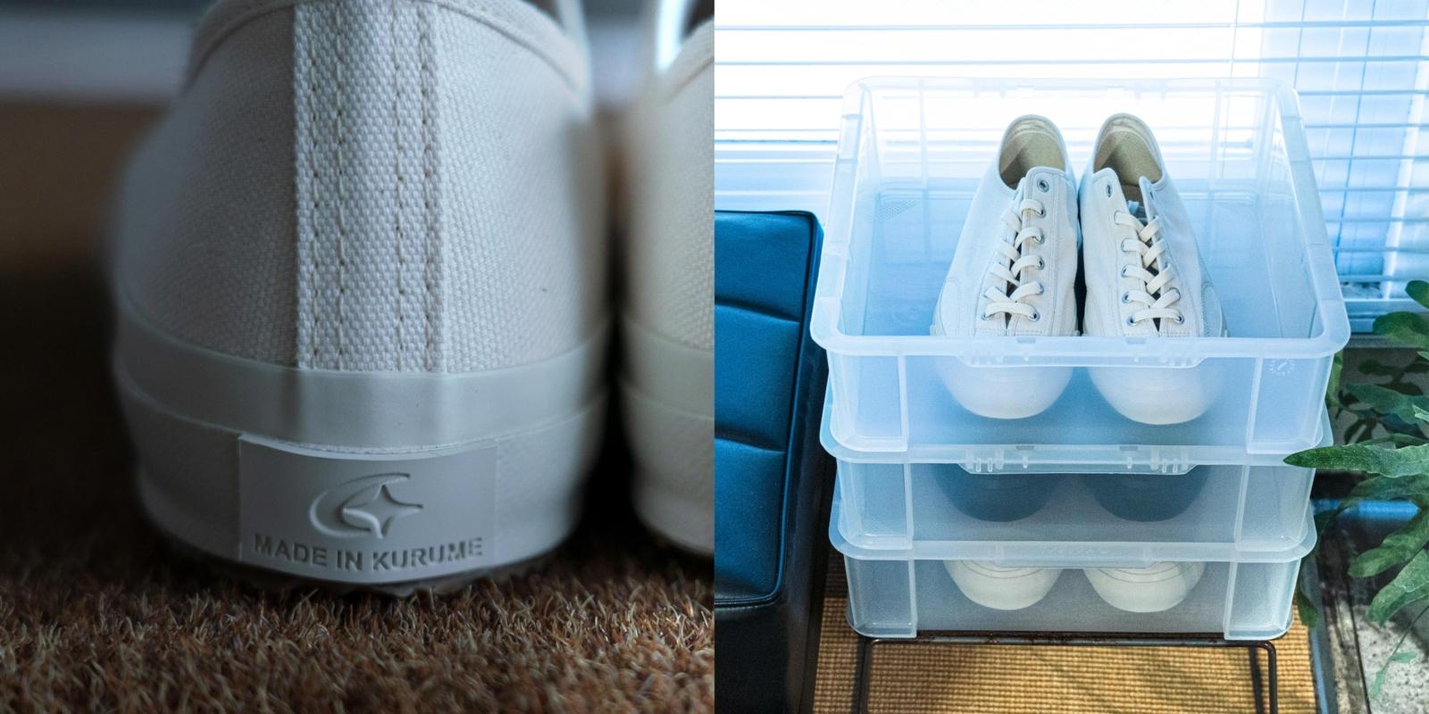 靴に合わせ独自に調合したゴム素材 丈夫で柔らかい ムーンスターのスニーカー