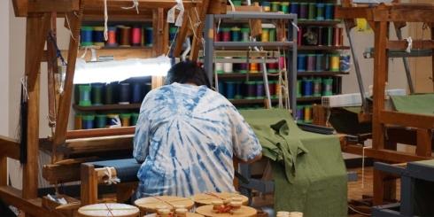 「鹿児島の織りと染め」工房見学レポート